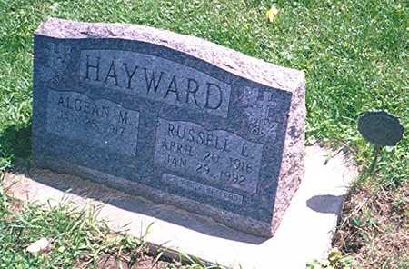 HAYWARD, RUSSELL L. - Jackson County, Iowa | RUSSELL L. HAYWARD