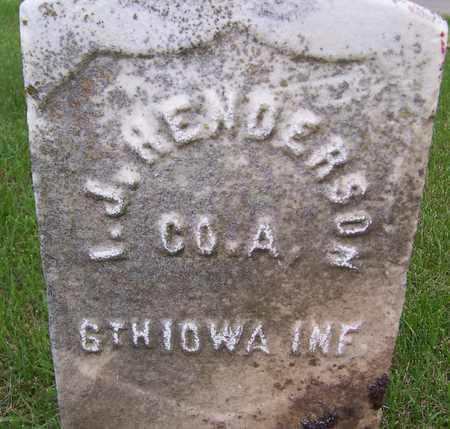 HENDERSON, I.J. - Jackson County, Iowa | I.J. HENDERSON
