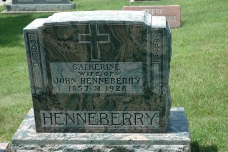 HENNEBERRY, CATHERINE - Jackson County, Iowa | CATHERINE HENNEBERRY