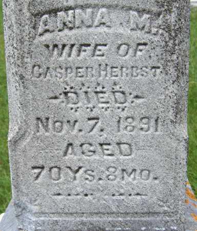 HERBST, ANNA M. - Jackson County, Iowa | ANNA M. HERBST