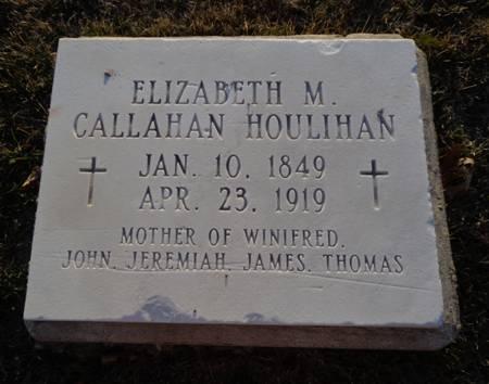 CALLAHAN HOULIHAN, ELIZABETH M. - Jackson County, Iowa | ELIZABETH M. CALLAHAN HOULIHAN