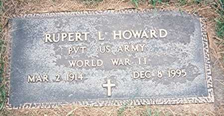 HOWARD, RUPERT L. - Jackson County, Iowa | RUPERT L. HOWARD
