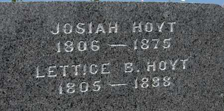 HOYT, LETTICE B. - Jackson County, Iowa | LETTICE B. HOYT