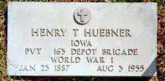 HUEBNER, HENRY T. - Jackson County, Iowa | HENRY T. HUEBNER