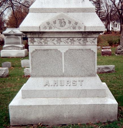 HURST, ALFRED - Jackson County, Iowa | ALFRED HURST