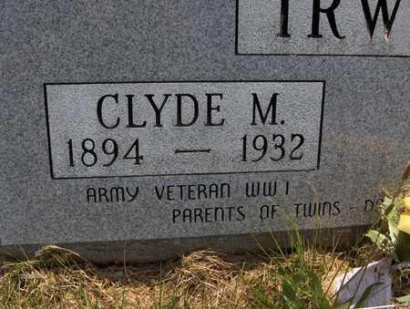 IRWIN, CLYDE M. - Jackson County, Iowa | CLYDE M. IRWIN