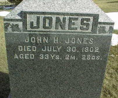JONES, JOHN H. - Jackson County, Iowa | JOHN H. JONES