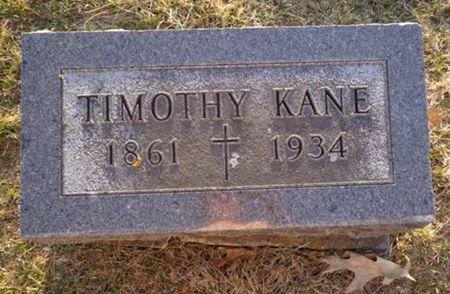 KANE, TIMOTHY - Jackson County, Iowa   TIMOTHY KANE