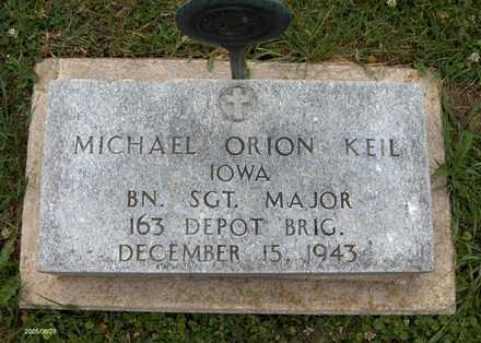 KEIL, MICHAEL ORION - Jackson County, Iowa | MICHAEL ORION KEIL