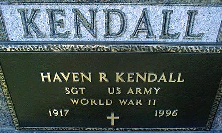 KENDALL, HAVEN R. - Jackson County, Iowa | HAVEN R. KENDALL