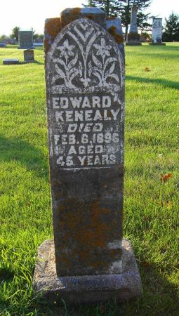 KENEALY, EDWARD - Jackson County, Iowa   EDWARD KENEALY