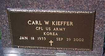 KIEFFER, CARL W. - Jackson County, Iowa | CARL W. KIEFFER