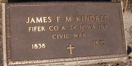 KINDRED, JAMES F. M. - Jackson County, Iowa | JAMES F. M. KINDRED