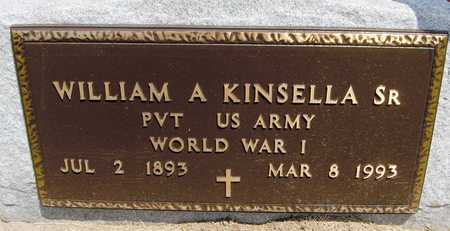 KINSELLA, WILLIAM A., SR. - Jackson County, Iowa | WILLIAM A., SR. KINSELLA