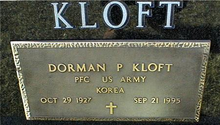 KLOFT, DORMAN P. - Jackson County, Iowa | DORMAN P. KLOFT