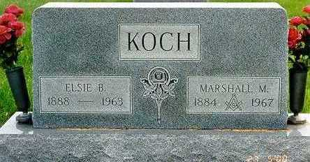 KOCH, ELSIE BELLE - Jackson County, Iowa | ELSIE BELLE KOCH