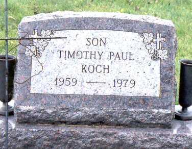 KOCH, TIMOTHY PAUL - Jackson County, Iowa | TIMOTHY PAUL KOCH