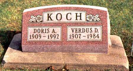 KOCH, DORIS A. - Jackson County, Iowa | DORIS A. KOCH