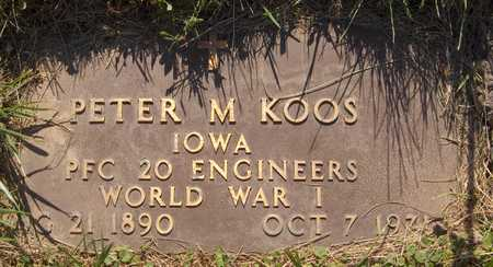 KOOS, PETER M. - Jackson County, Iowa | PETER M. KOOS