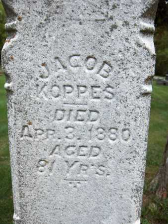 KOPPES, JACOB - Jackson County, Iowa | JACOB KOPPES