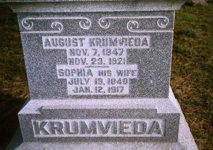 KRUMVIEDA, SOPHIE - Jackson County, Iowa | SOPHIE KRUMVIEDA