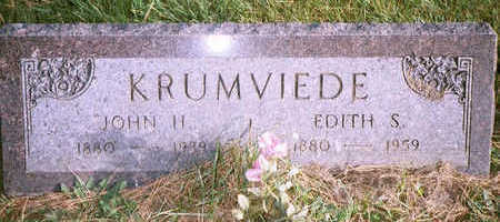 KRUMVIEDE, EDITH - Jackson County, Iowa | EDITH KRUMVIEDE