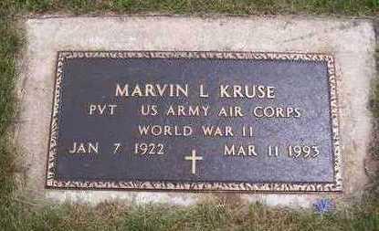KRUSE, MARVIN L. - Jackson County, Iowa | MARVIN L. KRUSE