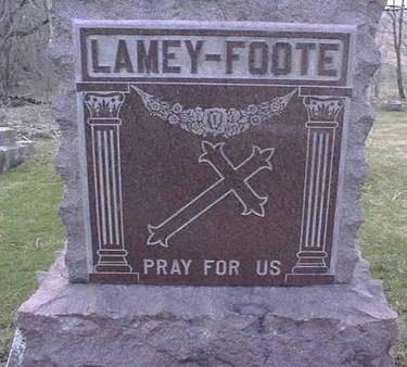 LAMEY-FOOTE, FAMILY - Jackson County, Iowa | FAMILY LAMEY-FOOTE