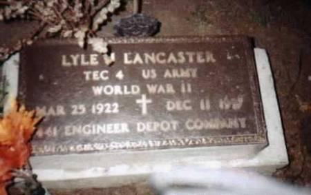 LANCASTER, LYLE - Jackson County, Iowa | LYLE LANCASTER