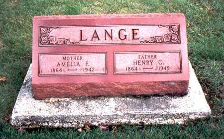 LANGE, HENRY C. - Jackson County, Iowa | HENRY C. LANGE