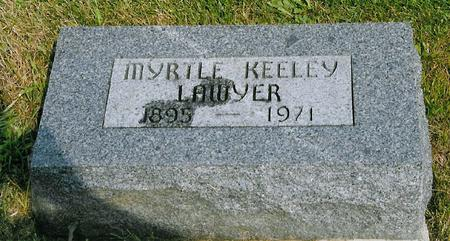 KEELEY LAWYER, MRYTLE - Jackson County, Iowa | MRYTLE KEELEY LAWYER