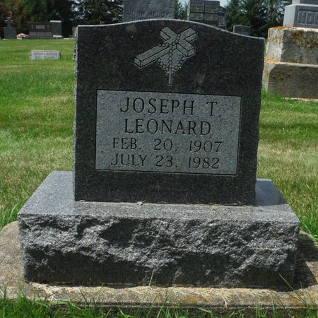LEONARD, JOSEPH T. - Jackson County, Iowa | JOSEPH T. LEONARD