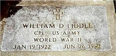 LIDDLE, WILLIAM D. - Jackson County, Iowa | WILLIAM D. LIDDLE