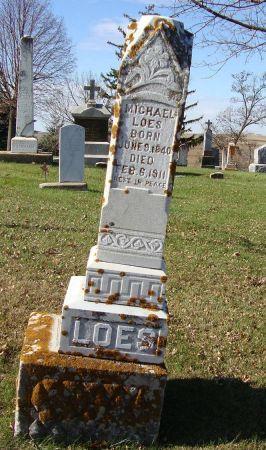 LOES, MICHAEL - Jackson County, Iowa   MICHAEL LOES
