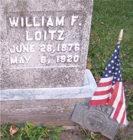 LOITZ, WILLIAM F. - Jackson County, Iowa | WILLIAM F. LOITZ