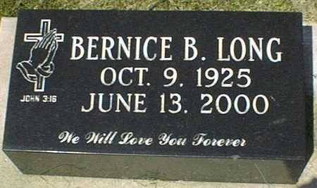 LONG, BERNICE B. - Jackson County, Iowa | BERNICE B. LONG