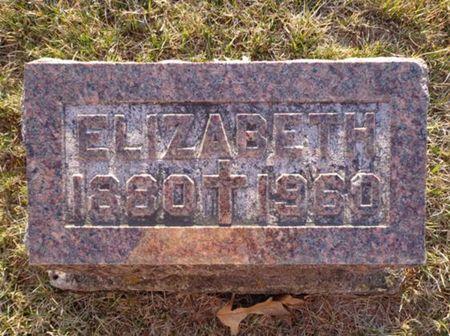 LYNCH, ELIZABETH - Jackson County, Iowa   ELIZABETH LYNCH