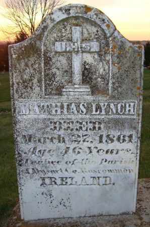 LYNCH, MATHIAS - Jackson County, Iowa | MATHIAS LYNCH