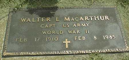 MACARTHUR, WALTER L. - Jackson County, Iowa | WALTER L. MACARTHUR