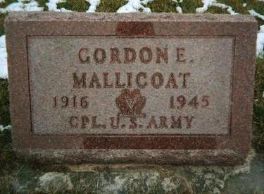 MALLICOAT, GORDON E. - Jackson County, Iowa | GORDON E. MALLICOAT