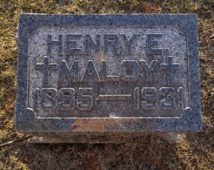 MALOY, HENRY E. - Jackson County, Iowa   HENRY E. MALOY