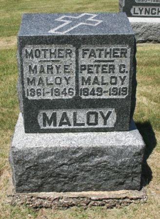 MALOY, MARY E. - Jackson County, Iowa | MARY E. MALOY