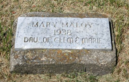 MALOY, MARY - Jackson County, Iowa   MARY MALOY