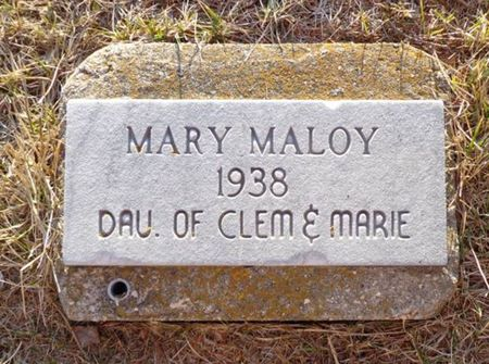 MALOY, MARY - Jackson County, Iowa | MARY MALOY