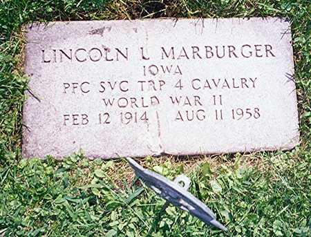 MARBURGER, LINCOLN L. - Jackson County, Iowa   LINCOLN L. MARBURGER