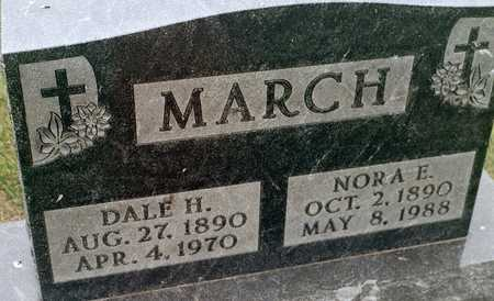 MARCH, NORA E. - Jackson County, Iowa | NORA E. MARCH
