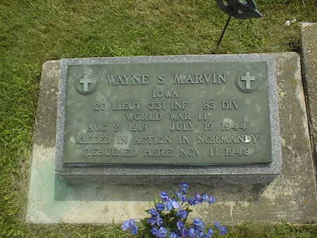MARVIN, WAYNE S. - Jackson County, Iowa | WAYNE S. MARVIN
