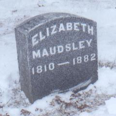 MAUDSLEY, ELIZABETH - Jackson County, Iowa | ELIZABETH MAUDSLEY
