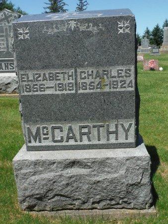 MCCARTHY, ELIZABETH - Jackson County, Iowa | ELIZABETH MCCARTHY