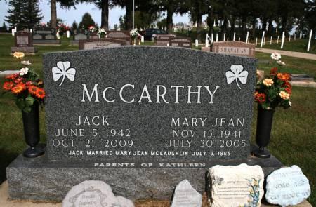 MCLAUGHLIN MCCARTHY, MARY JEAN - Jackson County, Iowa | MARY JEAN MCLAUGHLIN MCCARTHY